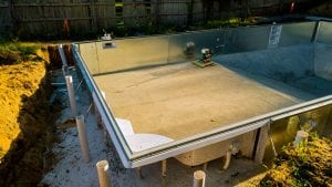 process of pool installation